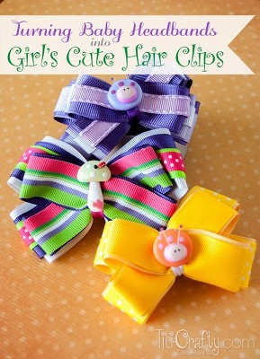 http://titicrafty.com/2014/02/turning-baby-headbands-into-girls-cute-hair-clips/