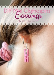 DIY-Mini-Clothespins-Earrings-cute-Tutorial