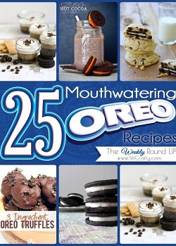 25 Mouthwatering Oreo Recipes {The Weekly Round Up}