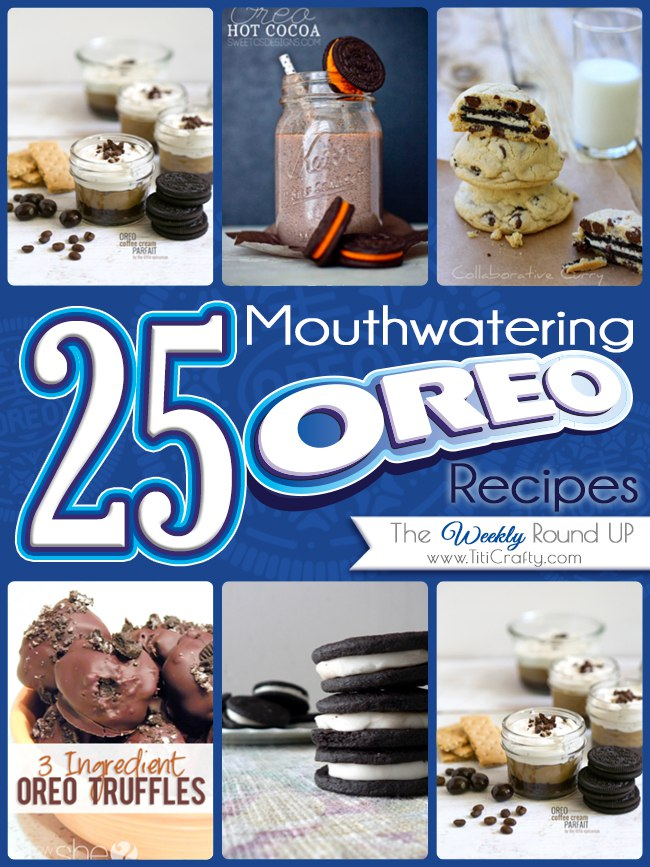 Mouthwatering Oreo Recipes Round-Up