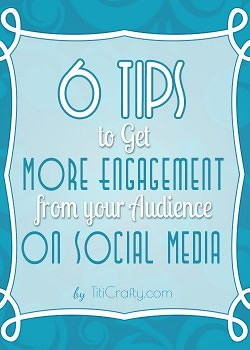 Blogging 101: 6 Tips to Get More Audience Engagement on Social Media.
