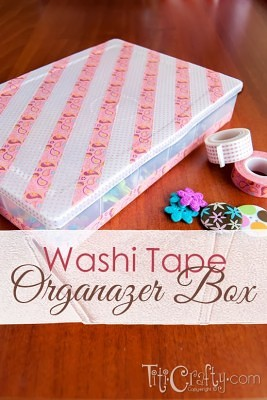 http://titicrafty.com/2013/12/washi-tape-inspired-mod-podge-paper-organizer/