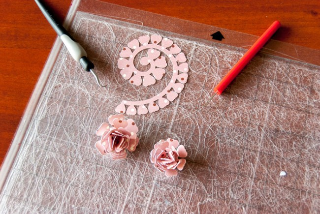 DIY Home Décor Paper Flowers Blossom Branches