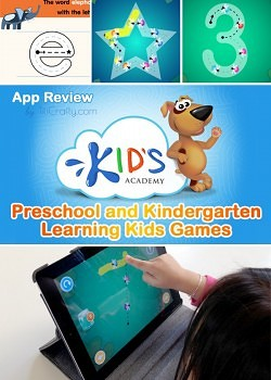 Kid's Academy's Preschool and Kindergarten Learning Games. App Review
