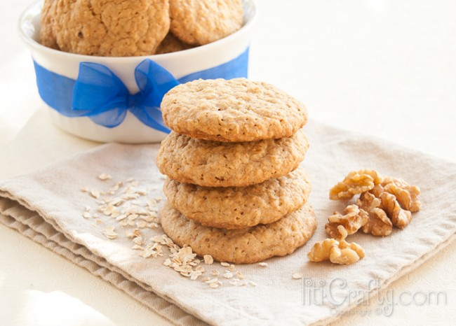 Recipe-Walnuts-Oatmeal-Cookies