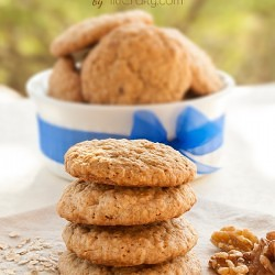 Walnut Oatmeal Cookies Recipe