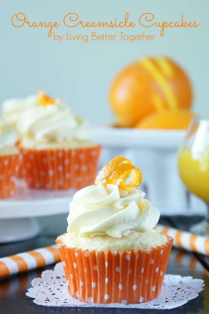 Orange Creamsicle Cupcakes Recipe
