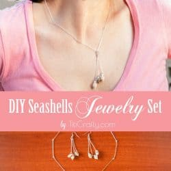 DIY Seashells Jewelry Set