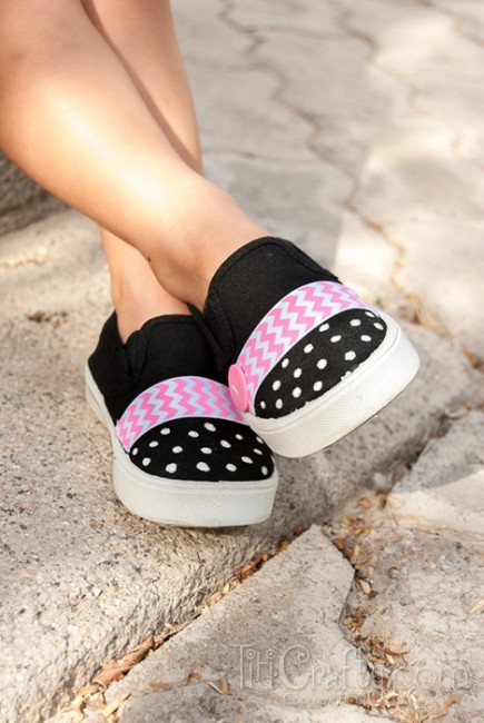 Chevron-Polka-dots-Embellished-Shoes-Tutorial