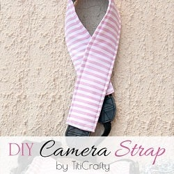 DIY Easy Camera Strap Tutorial