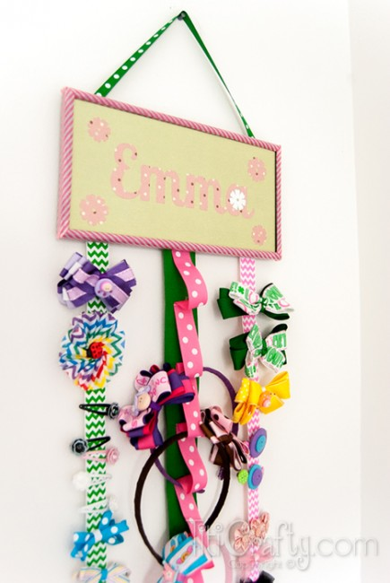 DIY-Girls-Crafty-Hair-Accessories-Holder