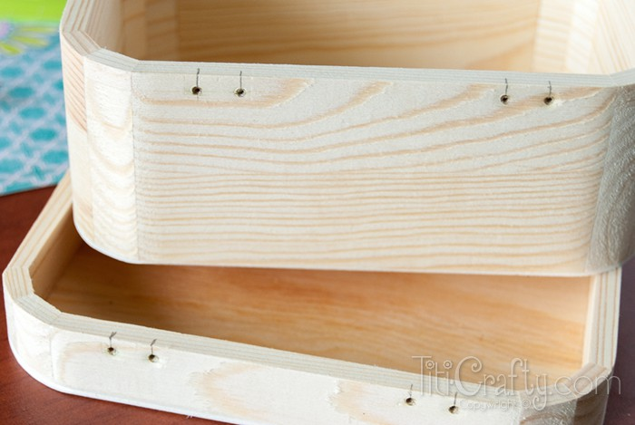 DIY Mod Podge Wooden Jewelry Boxes {contributor Cami ...