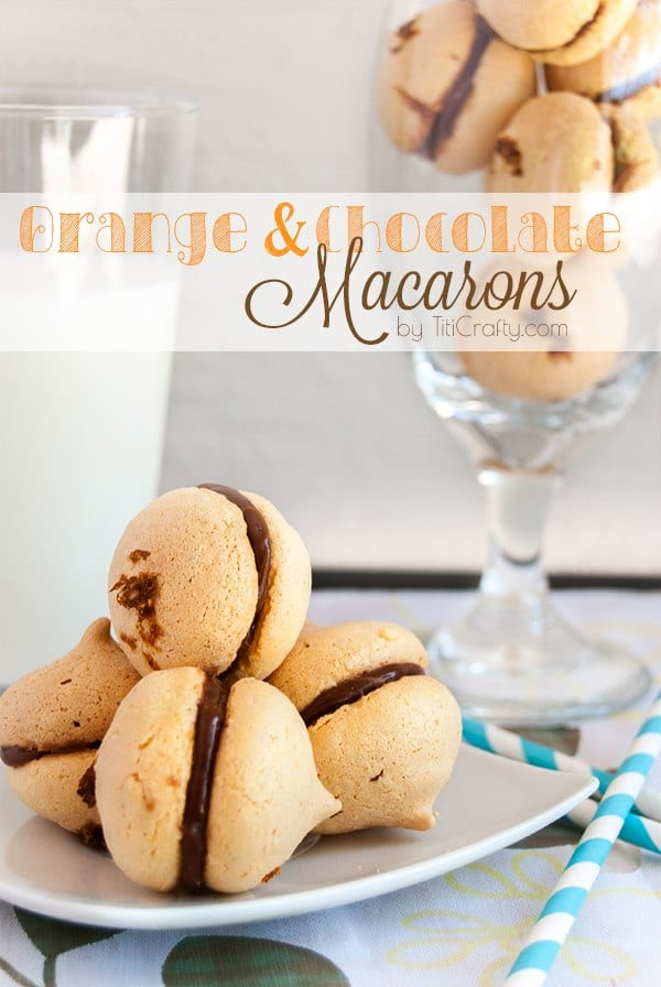 Orange and Chocolate Macarons Recipe