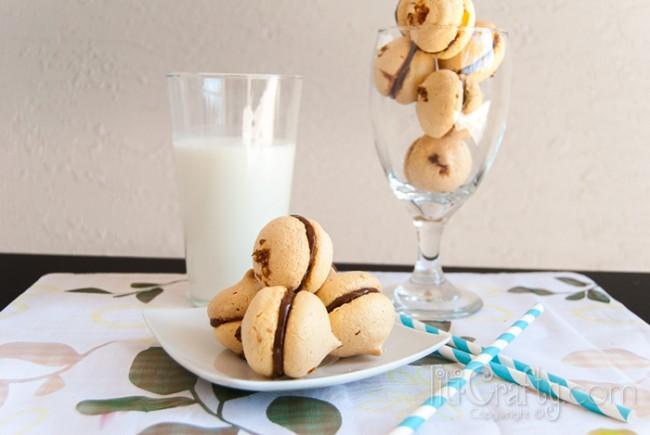 Orange-and-Chocolate-Macarons-Easy-Recipe