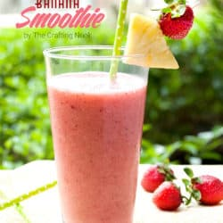 Delicious Pineapple Strawberry Banana Smoothie