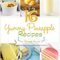 16 Yummy Pineapple Recipes {The Weekly Round Up}