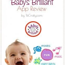 Baby's Brilliant App Review #BabysBrilliantApp