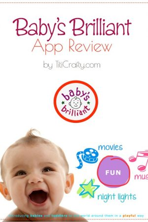 Baby's Brilliant App Review #BabysBrilliantApp