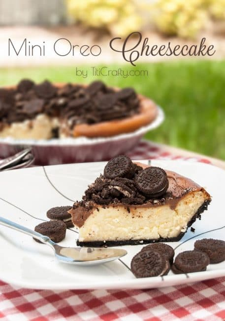 Mini Oreo Cheesecake Recipe