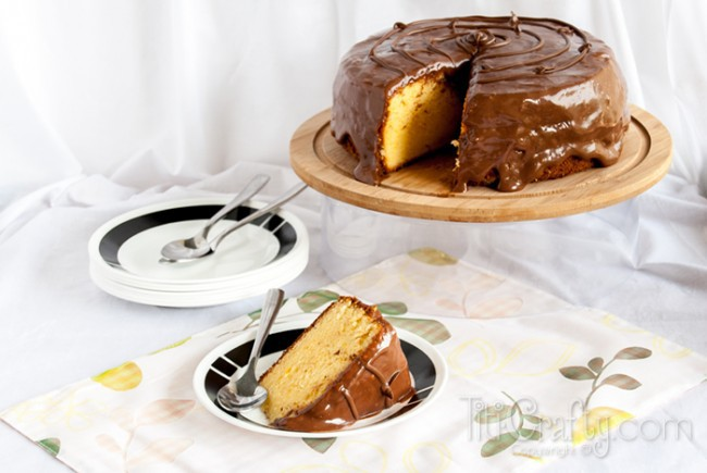 Orange-Cake-with-Nutella-Glaze-treat-Recipe