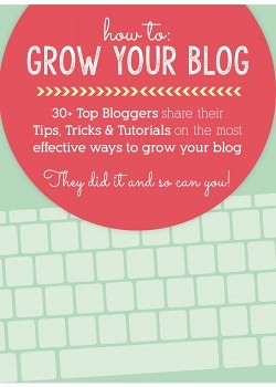 Are you a blogger or want to be One? How to: Grow your Blog e-Book