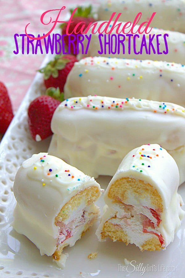 Handheld Strawberry Shortcakes Recipe