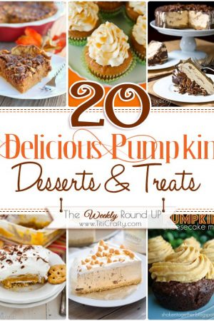 20 Delicious Pumpkin Desserts & Treats