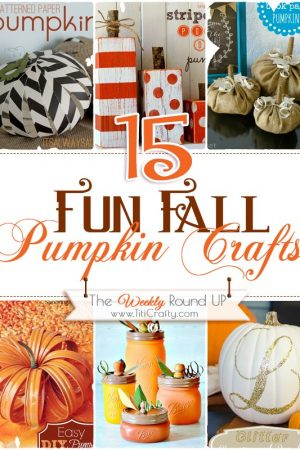 15 Fun DIY Fall Pumpkin Crafts
