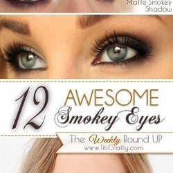 12 Awesome Smokey Eyes Tutorials {The Weekly Round Up} #makeup #smokeyeyes