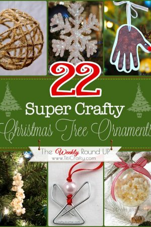 22 Crafty Christmas Tree Ornaments