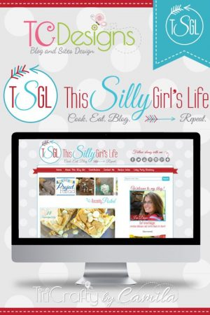 TCDesigns Red Aqua with This Silly Girl's Life Blog