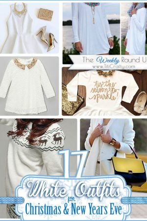 17 White Outfits for Christmas and New Years Eve