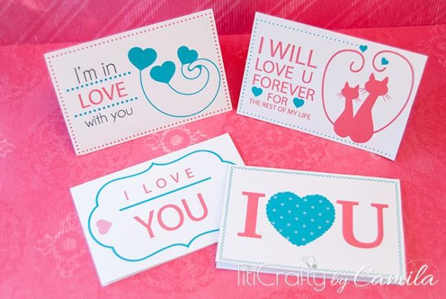Valentine's Day Mini Cards