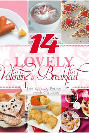 14 Lovely Valentine's Breakfast Ideas