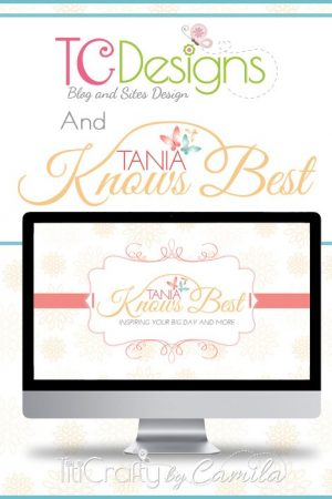 TCDesigns Brand Design Tania Knows Best #blogdesign #weblogdesign #cuteblogdesign #Logodesign