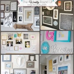 12 Creative Gallery Walls for Inspiration #gallerywalls #creativegallerywalls #inspiration
