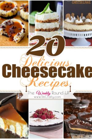 20 Delicious Cheesecake Recipes