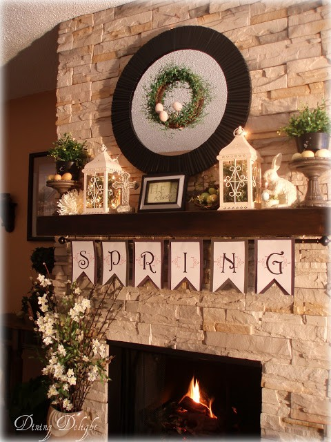 1-Spring Fireplace