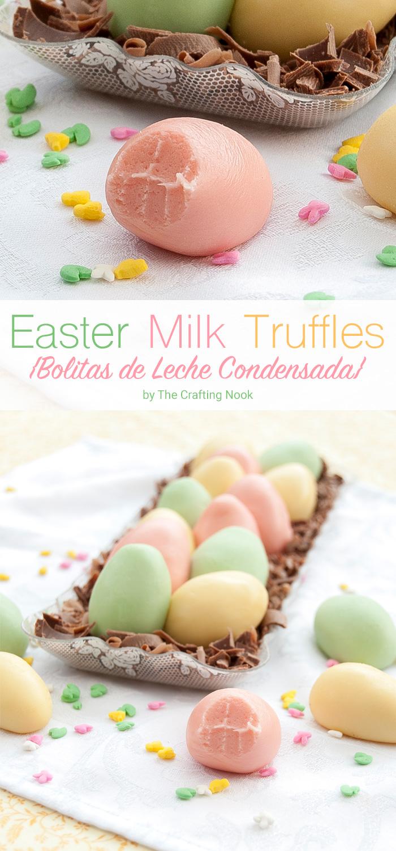 Easter Milk Truffles Recipe (Bolitas de Leche Condensada)