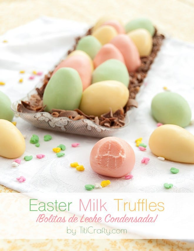 Easter Milk Truffles {via Titi Crafty}