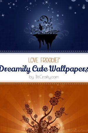 Freebie Day: Dreamily Cute Wallpapers