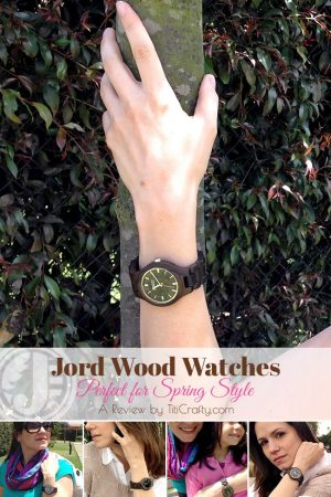 Jord Wood Watches perfect for Spring Style