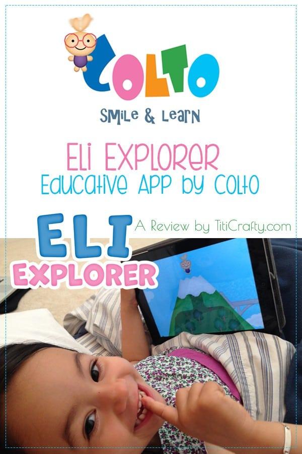 Eli Explorer App Review. Educative App by Colto. #Appreview #eliexplorerreview #eliexplorerapp #educativeapp