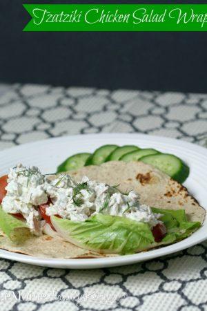 Tzatziki Chicken Salad Wrap {from Contributor Angela}