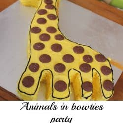 Animals in Bowties Party #partyideas #1styearparty #babypartyideas