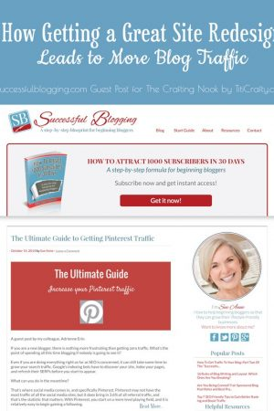 How Getting a Great Site Redesign Leads to More Blog Traffic