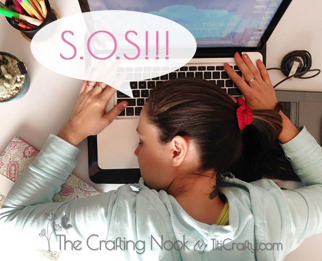 Survey! S.O.S TitiCrafty and The Crafting Nook Need Your help!!!!