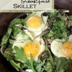 Powerhouse Breakfast Skillet Recipe #breakfastrecipe #skilletrecipe #breakfastidea