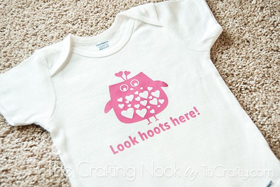 Baby Girl Owl Onesie Baby Shower Gift-01