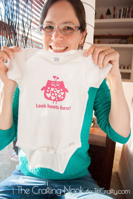 Baby Girl Owl Onesie Baby Shower Gift-06
